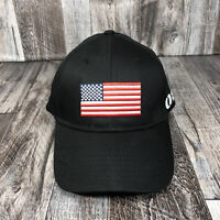 UNITED RENTALS AMERICAN FLAG K PRODUCTS HAT CAP ADJUSTABLE BLACK ONE SIZE STRAP