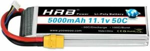 11.1V 3S 5000mAh LiPo Battery 50C XT90 for RC Truck Helicopter Quad Boat Drone