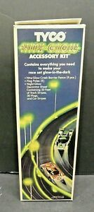 DISCONTINUED - TYCO Curve Hugger Nite Glow Accessory Kit Mint in a Near Mint box
