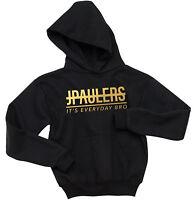 JPAULERS IT'S EVERYDAY BRO GOLD FOIL PRINT HOODIE JAKE PAUL KIDS PULLOVER HOODIE