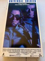 UNIVERSAL SOLDIER - (VHS, 1992) - JEAN-CLUDE VAN DAMME / DOLPH LUNDGREN - NEW
