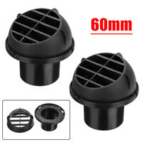 2PC 60mm Air Vent Outlet Auto Heater Duct Warm For Eberspacher Webasto Propex