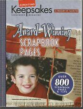 CREATING KEEPSAKES AWARD-WINNING SCRAPBOOK PAGES LEISURE ARTS FAVORITES TIPS