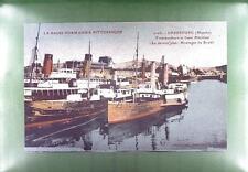 CPA France Cherbourg Schiffe Ship Boat Sail Nave Marine Statek Port s55