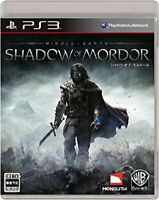 USED PS3 PlayStation 3 Shadow Of Mordor 13976 JAPAN IMPORT