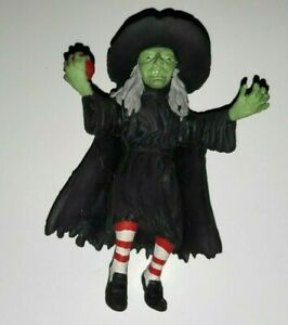 """Vintage Imperial Monster Jiggler Rubber Figure 6.5"""" -Wicked Witch 2003 HALLOWEEN"""