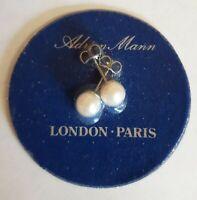 Adrian Mann Vintage Pearl Earrings