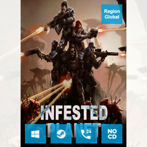 Infested Planet for PC Game Steam Key Region Free