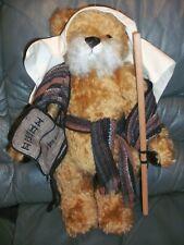 HERMANN SPIELWAREN BearMoses Ltd Edit mohair tilt growler.