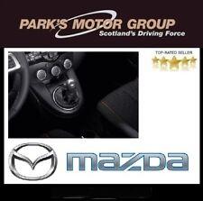 New Genuine Mazda 2 DE 10- Black With Silver Shift Pattern Gear Knob DL4146030A