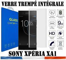 vitre film protection écran verre trempé INTEGRALE 3D  pour Sony Xperia XA1