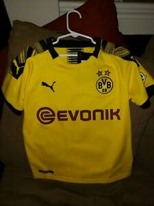BVB Home Replica Jr Size M Puma Free Shipping Brand New with Tags NWT Yellow