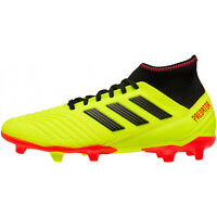 ADIDAS PREDATOR 18.3 FG Mens Firm-Ground Soccer Cleats - Yellow - Pick Size