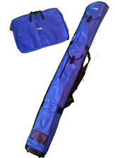 "LEEDA 2XL COARSE FISHING ROD HOLDALL & NET BAG SET - CARP LUGGAGE - 1.75M, 5'10"""