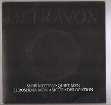 ULTRAVOX Quiet Men 4 Piste Double Pack en relief image manche dwip6691