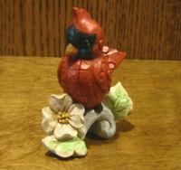 "Jim Shore Heartwood Creek Mini's #6003980 CARDINAL, New From Retail Store 3"""