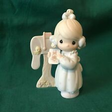 """New ListingPrecious Moments 1990 """"C-0011"""" """"Sharing The Good News Together"""" Mint-No Box"""