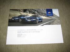 BMW Alpina B3 S Biturbo Limousine Touring Prospekt brochure v. 3/2017, 16 Seiten