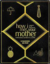 HOW I MET YOUR MOTHER intégrale Coffret 9 saisons 28 Dvd