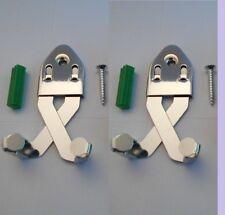 Get Two (2) New Wall Display Hanger Sword Hanger Daggers Knife Sword Displays