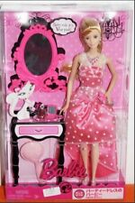 Mattel 2009 Barbie I Love Pink Doll Party Rule Wear Pink Dress P7657 New in Box
