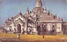 BR45316 Ananda pagodda pagan Burmah myanmar