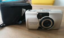 Olympus Mju ii Zoom 105 Compact 35mm Film Camera & Case  Battery Tested!