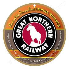 Great Northern Railway Logo Wood Plaque-Sign /Man Cave/Train & Kids Room
