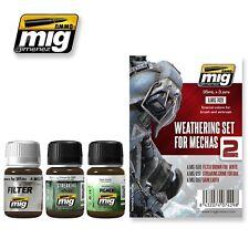 Ammo Of Mig Jimenez Weathering Set For Mechas # 7429