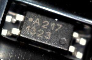 10 x Avago ACPL-217-500E DC In Transistor Output Optocoupler 3KV SOIC4 a217