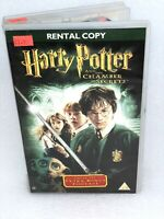 Harry Potter and the Chamber of Secrets VHS tape, Ex Rental Big Box (Tested)