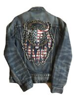 NWOT Rare Ralph Lauren Denim & Supply Jean Jacket Blue Men's Size Medium