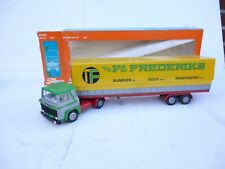TEKNO 1:50 - SCANIA LB 141 FREDERIKS TRANSPORT  TRUCK &  CONTAINER TRAILER  NMB