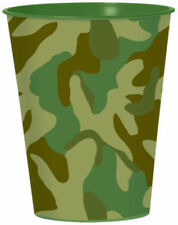 Camouflage Military Army Greens Party Supplies Party Favour Souvenir Plastic Cup