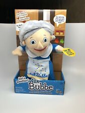 Ask Bubbe Mensch on Bench As Seen On Shark Tank - The Talking Jewish Grandmother