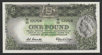 Australia 1961 : Coombs / Wilson - Reserve Bank One Pound Pre-Decimal Banknote