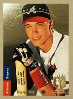 1993 UPPER DECK SP PREMIER PROSPECT FOIL #280 CHIPPER JONES Braves Rookie RC PSA