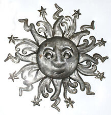 """Sun Wall Art Metal Hanging Pictures On The Wall Home Redecorating Haiti Size 24"""""""