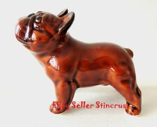 French Bulldog figurine color Chocolate. Author's Porcelain figurine + Gift Box