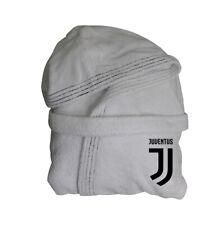 Juventus Accappatoio per Adulti, Taglia M - Bianco