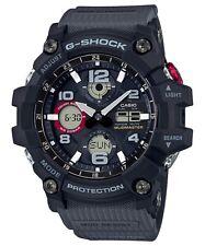 Casio G-Shock Master of G Mudmaster Black and Red Watch - GSG-100-1A8