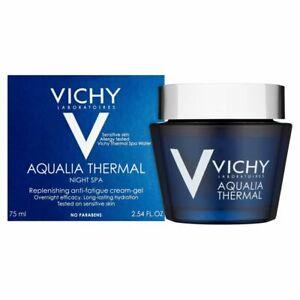 VICHY AQUALIA THERMAL NIGHT SPA CREAM-GEL #75 ML #NEW