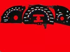 Opel Astra F, Calibra, Vectra  Plasma Tachoscheiben in Schwarz 220 kmh