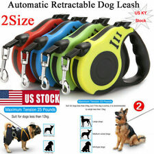 Automatic Retractable Dog Leash Pet Collar Automatic Walking Lead Traction Rope