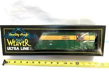 Weaver O Scale 50' Ribbed Side Boxcar, Santa Fe, 3-rail