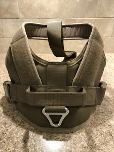EXCELLENT ELITE SPANKER Tactical Dog Harness Vest with Handle Size Small Khaki