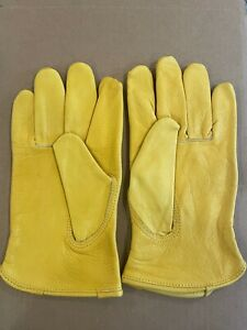 Sheepskin Leather Work Gloves XL