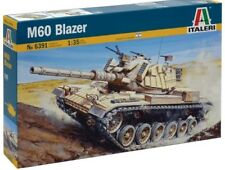 Italeri 6391 Israeli M60 Main Battle Tank with Blazer Armor 1/35 Scale Model Ki