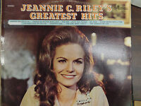Jeannie C Riley's Greatest Hits 33RPM EX 120215 TLJ