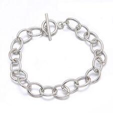 6x Wholesale Chain Bracelets Fit Clip On Charms  22cm 220011